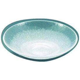 吉沼硝子 Yoshinuma Glass 硝子和食器 白雪16 31cm 丸盛込皿 <RML32>[RML32]