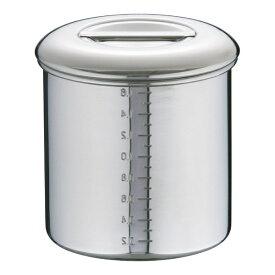 本間製作所 18-8内蓋式キッチンポット 13cm <AKT47013>[AKT47013]