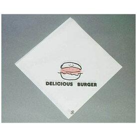 福助工業 Fukusuke Kogyo バーガー袋 デリシャスバーガー No.18 (100枚入) <XBC1718>[XBC1718]