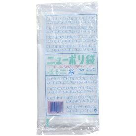 福助工業 Fukusuke Kogyo ニューポリ袋03 (100枚入) No.8 <XPL2902>[XPL2902]
