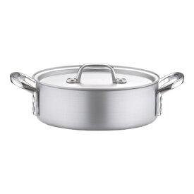 北陸アルミニウム HOKURIKU ALUMINIUM 《IH非対応》 アルミ プロセレクト 外輪鍋(目盛付) 21cm <ASTD521>[ASTD521]