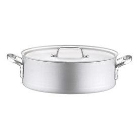 北陸アルミニウム HOKURIKU ALUMINIUM 《IH非対応》 アルミ プロセレクト 外輪鍋(目盛付) 33cm <ASTD533>[ASTD533]