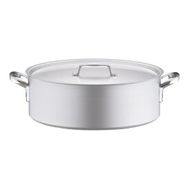 北陸アルミニウム HOKURIKU ALUMINIUM 《IH非対応》 アルミ プロセレクト 外輪鍋(目盛付) 48cm <ASTD548>[ASTD548]