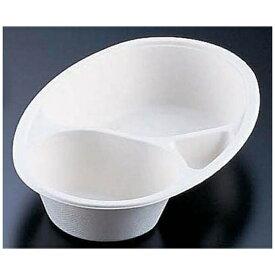 大黒工業 Daikoku Industry パルプモールドカレー皿仕切付(50枚入) MZ-2 <GMC1501>[GMC1501]