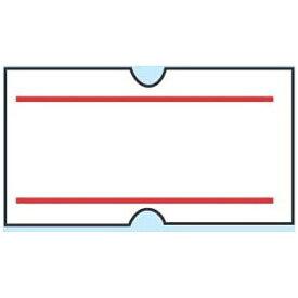 共和 KYOWA ハンドラベラーACE用ラベル(10巻入) 上下赤ライン(1巻1000枚) <XHV0904>[XHV0904]