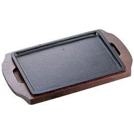 イシガキ産業 ISHIGAKI 《IH対応》 イシガキ ステーキ皿 長方形 09-18 18cm <PIS1701>[PIS1701]