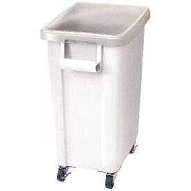 リス RISU リス キャスター付材料保管容器(蓋付) 70型 ホワイト <AZI0202>[AZI0202]
