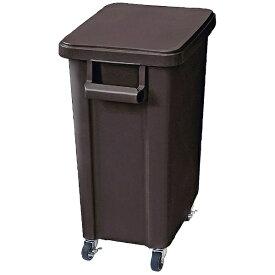 リス RISU リス 厨房用キャスターペール(排水栓付) 70型 ダークグレー <KDS8507>[KDS8507]