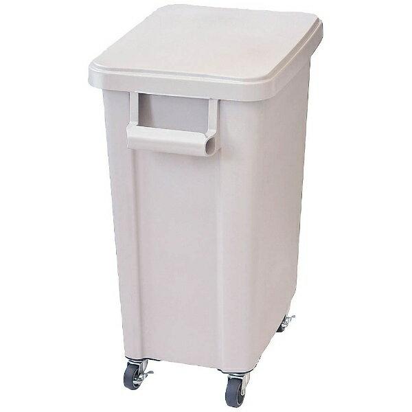 リス RISU リス 厨房用キャスターペール(排水栓付) 70型 グレー <KDS8505>[KDS8505]