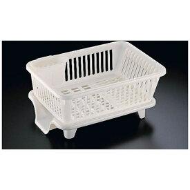 サンコー THANKO 皿立て水切りかご ヨコ型 No.2 (箸立て付) <EMZ1501>[EMZ1501]