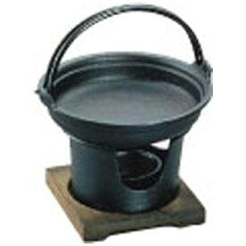 アサヒ ASAHI 《IH非対応》 アサヒ 鉄南部 すきやき鍋コンロセット <QSK41>[QSK41]