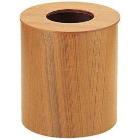 サイトーウッド SAITO WOOD 木製ルーム用ゴミ入れ 蓋付(チーク) 952 大 <VGM02952>[VGM02952]