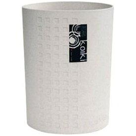 八幡化成 Hachiman-kasei コイキ モダン 丸型(小) 4.5L (WH)ホワイト <VKI0301>[VKI0301]