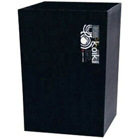 八幡化成 Hachiman-kasei コイキ モダン 角型(小) 4.5L (BK)ブラック <VKI0405>[VKI0405]