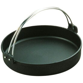中部コーポレーション CHUBU CORPORATION 《IH対応》 トキワ 鉄すきやき鍋 黒ツル付 28cm <QSK35028>[QSK35028]