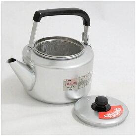 アカオアルミ AKAO ALUMINUM 《IH非対応》 アカオ アルマイト 茶漉し付大型ケットル 6L <BKT46006>[BKT46006]