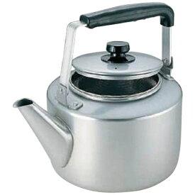 アカオアルミ AKAO ALUMINUM 《IH非対応》 アカオ アルマイト 茶漉し付大型ケットル 8L <BKT46008>[BKT46008]
