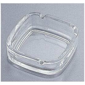 東洋佐々木ガラス TOYO-SASAKI GLASS ガラス製 スクエア灰皿 P-05536 <PHIC6>[PHIC6]