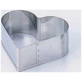 田中糧機製作所 18-8 刃付セルクルリング ハート型 12cm <WSL7101>[WSL7101]