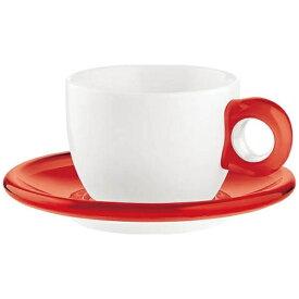 グッチーニ GUZZINI ティー/コーヒーカップ 2客セット 2774.0065 レッド <RGTS304>[RGTS304]