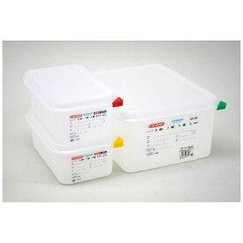アラベン araven アラベン 密封カバー付食品保存コンテナー 1/2 200mm 3035 <AKVR607>[AKVR607]