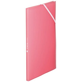 キングジム KING JIM [ファイル] クリアーファイル ホルダーイン ピンク 8ポケット 6171TWヒン