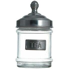 ダルトン DULTON アルミキャップ ガラス キャニスター 100-030T TEA <AKY3503>[AKY3503]