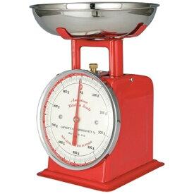 ダルトン DULTON アメリカンキッチンスケール100-061 1kg レッド <BSK8502>[BSK8502]