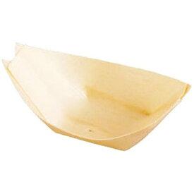 ヤマコー YAMACO 経木容器 舟型(100枚入) 23906 3.5寸 <QKY2402>[QKY2402]
