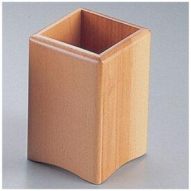 ヤマコー YAMACO 木製 角丸箸立 15228(ナチュラル) <PHS89>[PHS89]