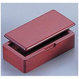 ヤマコー YAMACO 木製 蓋付楊枝入 15252(ブラウン) <PYC40>[PYC40]