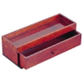 ヤマコー YAMACO 木製 カスター&箸箱 ブラウン <PHSA1>[PHSA1]
