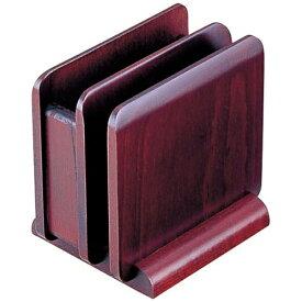 ヤマコー YAMACO 木製 ナフキン&メニュースタンド 15242(ブラウン) <PNHA2>[PNHA2]