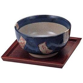 ヤマコー YAMACO 木製ハイブラウン 正角どんぶりトレー 15237 <PTL9001>[PTL9001]