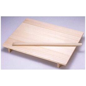 ヤマコー YAMACO 木製 のし板 めん棒付(桐材) 中 <ANS0702>[ANS0702]