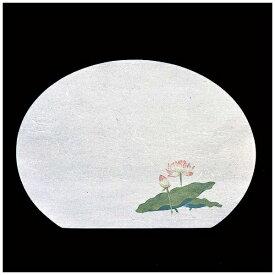 ヤマコー YAMACO 尺3半月・枯淡懐石まっと(100枚入) はす <QMT71>[QMT71]