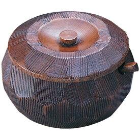 ヤマコー YAMACO 摺り漆木製飯器セット(蓋付) 中 25892 <RHV7702>[RHV7702]