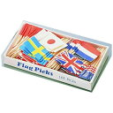 ヤマコー Yamacoh フラッグピック 万国旗 (144本入) (各国混合) <QBV05>[QBV05]