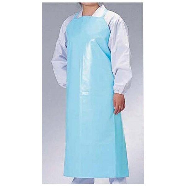 ワコウ WAKO マイティクロス エプロン胸当てタイプ E1001-1 M ブルー <SEP7408>[2012001]