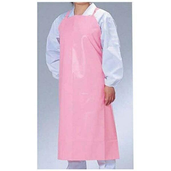 ワコウ マイティクロス エプロン胸当てタイプ E1001-4 M ピンク <SEP7411>[2013096]