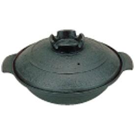東伸販売 Toushin hanbai 《IH非対応》 五進 鉄 寄せ鍋 (内面茶ホーロー仕上) 20cm <QYS19020>[QYS19020]