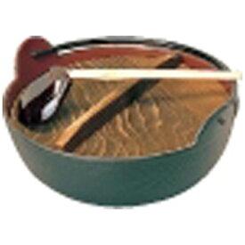 東伸販売 Toushin hanbai 《IH非対応》 五進 田舎鍋(鉄製内面茶ホーロー仕上) 18cm(杓子付) <QIN06018>[QIN06018]