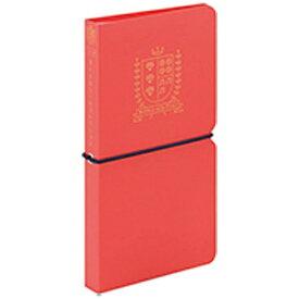 キングジム KING JIM [ファイル] オトナのシールコレクション(シートシール用) A5変形 赤 2980アカ