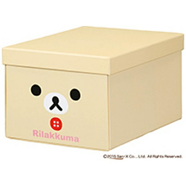 キングジム KING JIM [ケース] リラックマ 折りたたみ収納ボックス サイズ:M コリラックマ 4066RKコリ