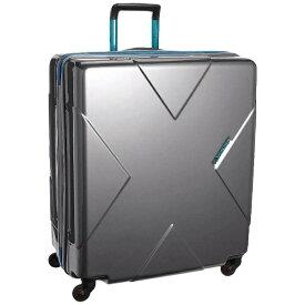 ヒデオワカマツ スーツケース メガマックス(105L)8575955 シルバー 【メーカー直送・代金引換不可・時間指定・返品不可】