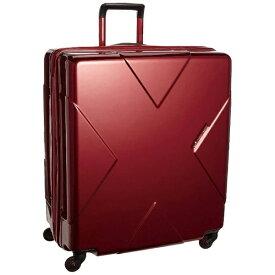 ヒデオワカマツ HIDEO WAKAMATSU スーツケース 105L メガマックス ワイン 85-75953 [TSAロック搭載] 【メーカー直送・代金引換不可・時間指定・返品不可】