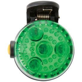 アスカ ASKA 2WAY LED安全ライト グリーン SL02G