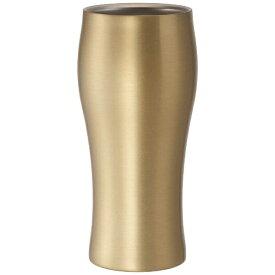 ドウシシャ DOSHISHA タンブラー 「飲みごろビールタンブラー」(420ml) DSB420GD ゴールド[DSB420GD]