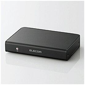 エレコム ELECOM HDMI分配器 VSP-HD12BK [1入力 /2出力 /4K対応][VSPHD12BK]