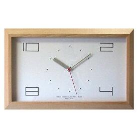 フォーカススリー FOCUS THREE 掛け時計 黄金比の時計 ナチュラル V-0002